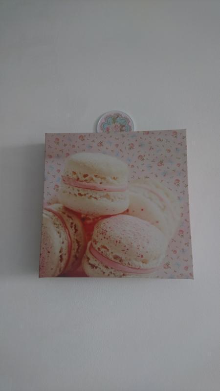 Картинка картина пирожное макарун