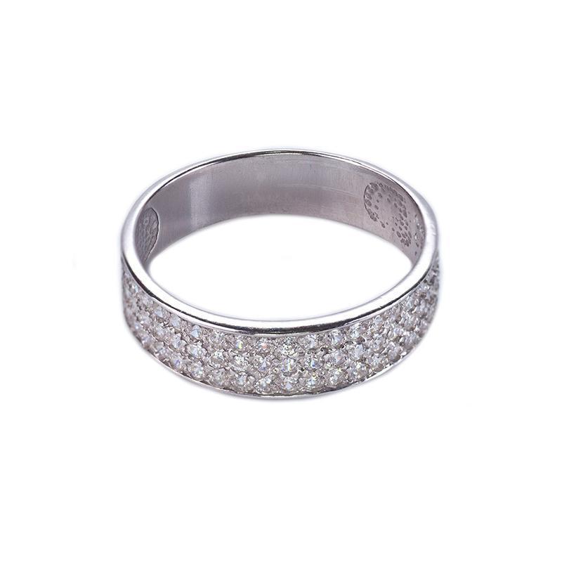 """Серебряное кольцо """"мерцание"""""""