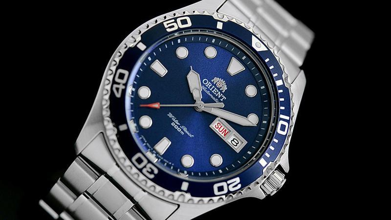 Мужские механические часы Orient Ray II Новые дайвер - Фото 2