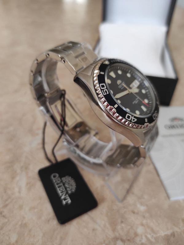 Мужские механические часы Orient Ray II Новые дайвер - Фото 8