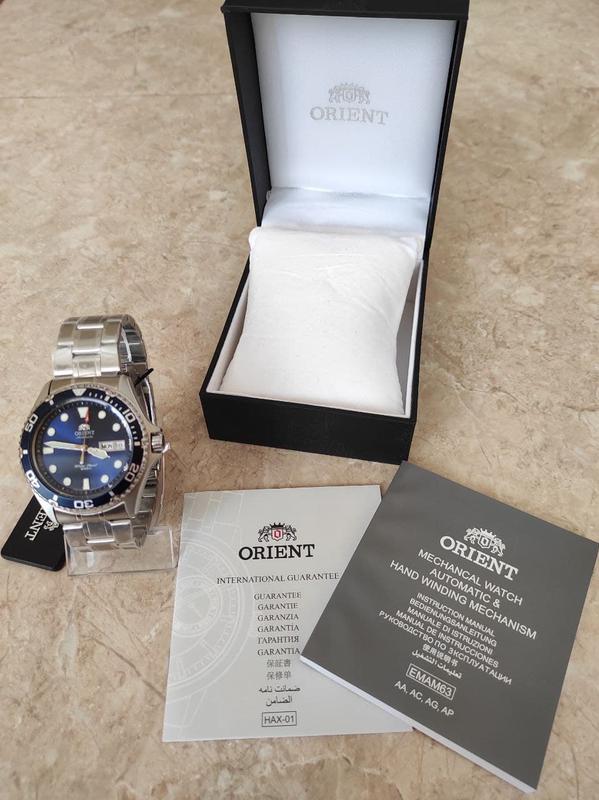Мужские механические часы Orient Ray II Новые дайвер - Фото 7