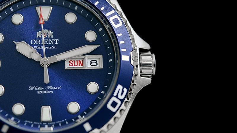 Мужские механические часы Orient Ray II Новые дайвер - Фото 4