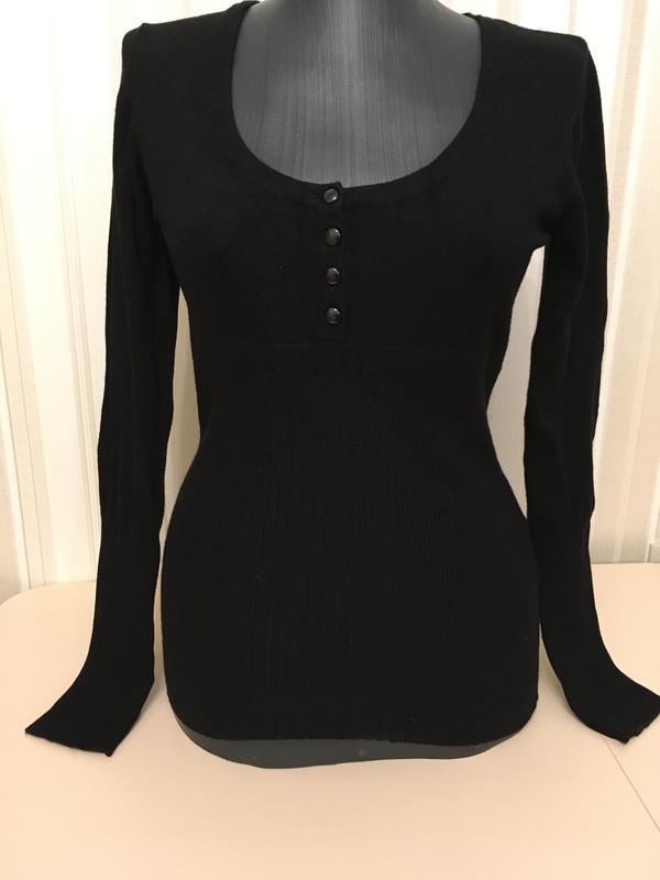 Супер черная кофточка свитер