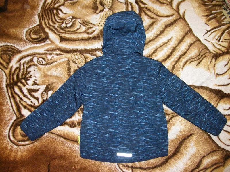 Куртка (софтшел) c&a мальчику, рост 122см, цена снижена на 2 дня! - Фото 3