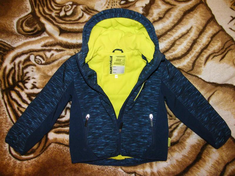 Куртка (софтшел) c&a мальчику, рост 122см, цена снижена на 2 дня! - Фото 4