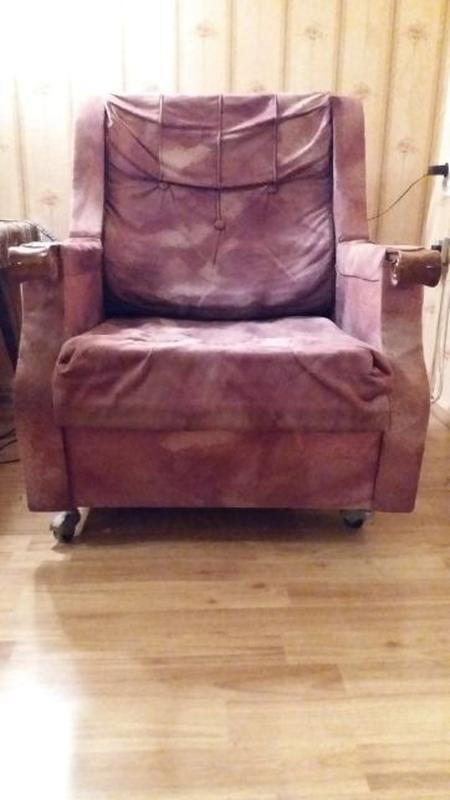 Кресло ещё послужит хорошей попе