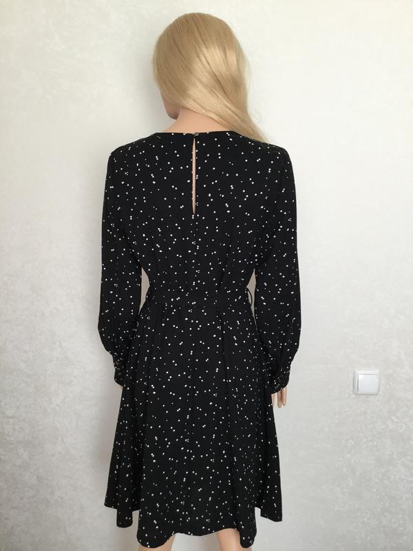 Платье миди в горошек next размер 12/14 - Фото 6