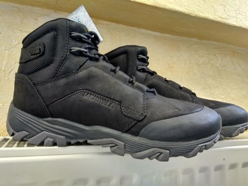 Зимние водонепроницаемые ботинки кроссовки merrell coldpack ic... - Фото 2