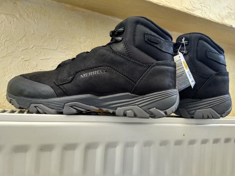 Зимние водонепроницаемые ботинки кроссовки merrell coldpack ic... - Фото 3