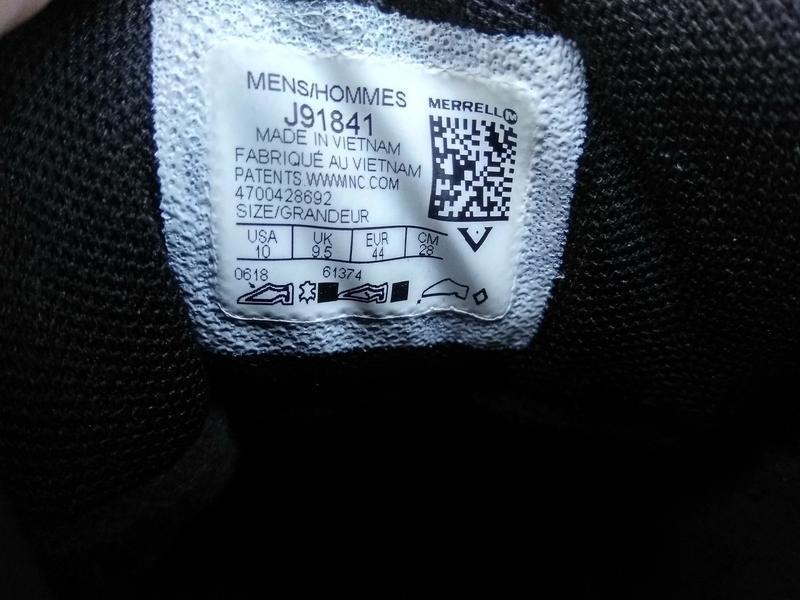 Зимние водонепроницаемые ботинки кроссовки merrell coldpack ic... - Фото 7