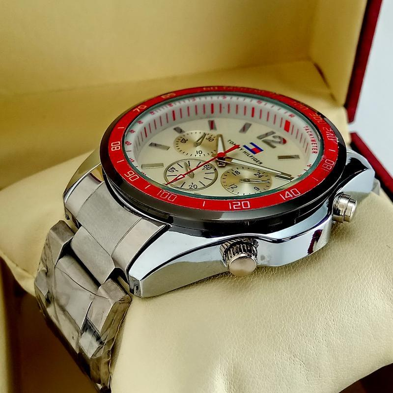 Мужские кварцевые наручные часы tommy hilfiger - Фото 2