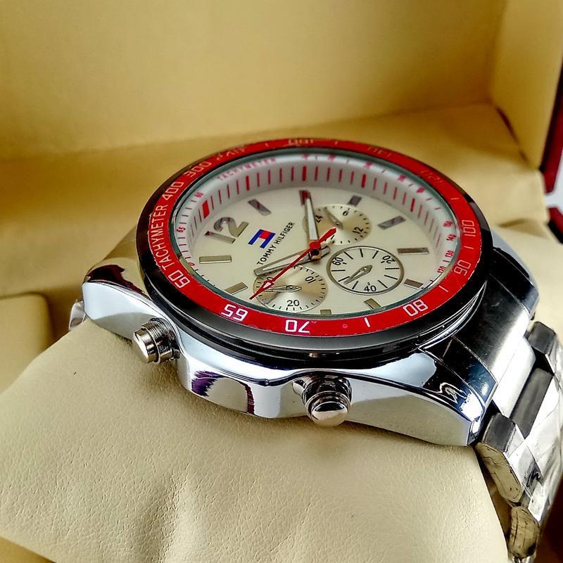 Мужские кварцевые наручные часы tommy hilfiger - Фото 3
