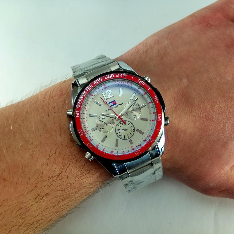 Мужские кварцевые наручные часы tommy hilfiger - Фото 5