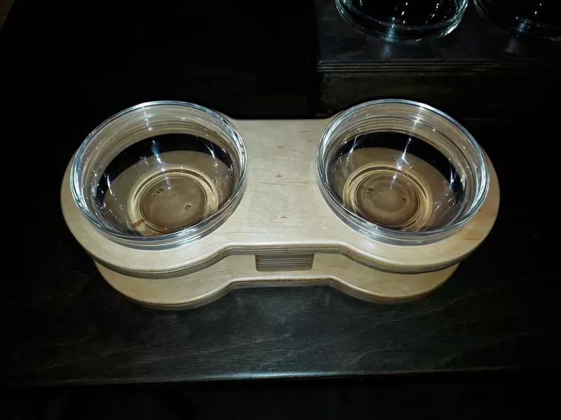 Подставка с мисками для собак. - Фото 5