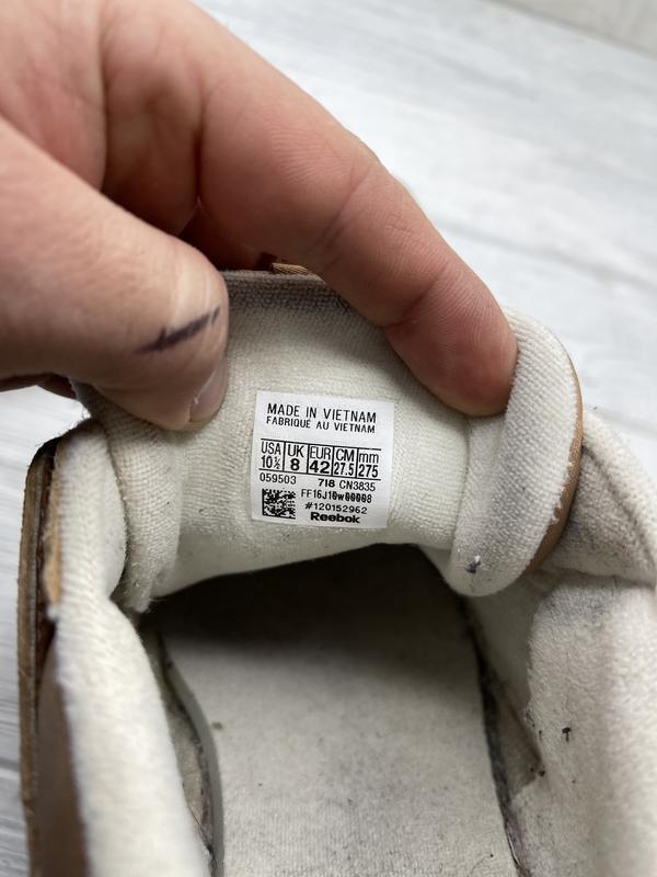 Мужские кроссовки reebok classic - Фото 8