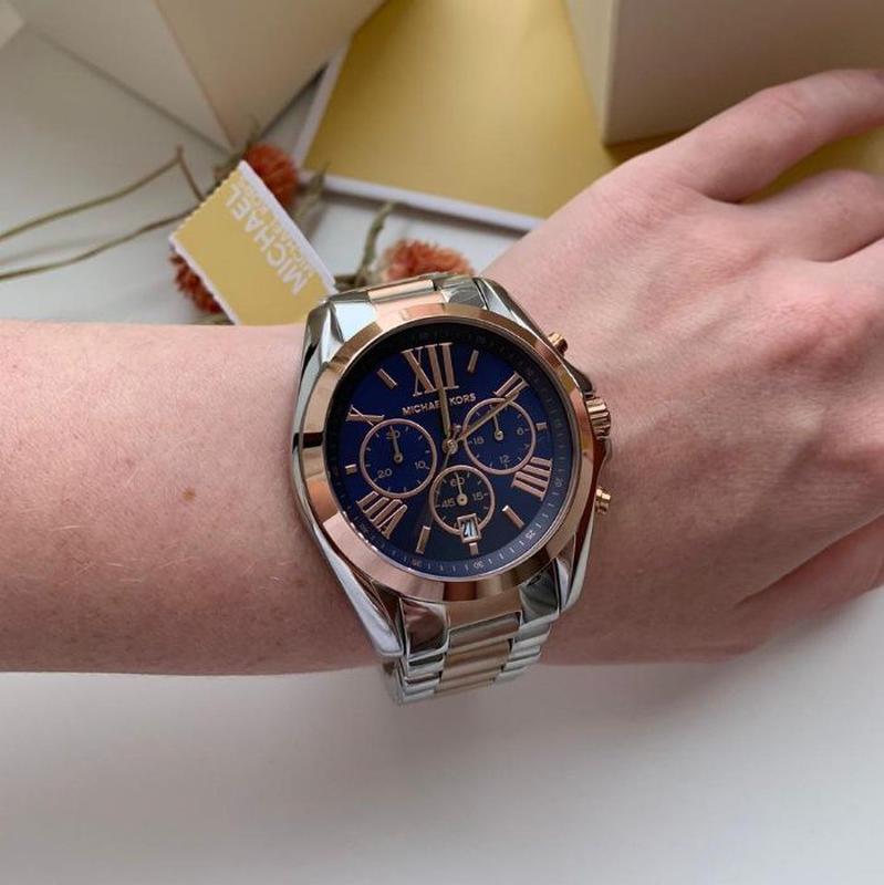 Женские часы Michael Kors MK5606 'Bradshaw' - Фото 6