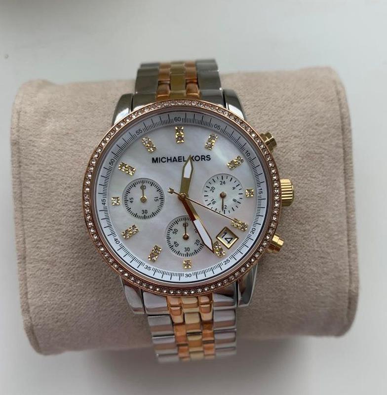Женские часы Michael Kors MK5650 'Ritz' - Фото 2