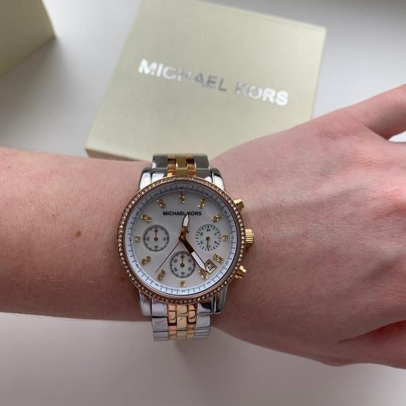 Женские часы Michael Kors MK5650 'Ritz' - Фото 6