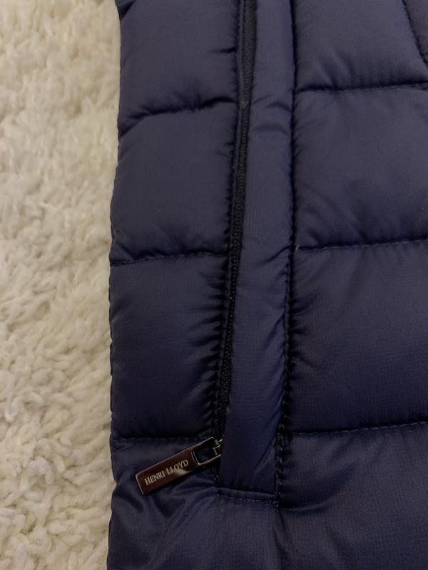 Куртка пуховик микропуховик от бренда henri lloyd - Фото 4