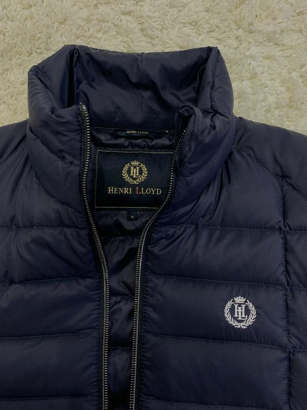 Куртка пуховик микропуховик от бренда henri lloyd - Фото 5