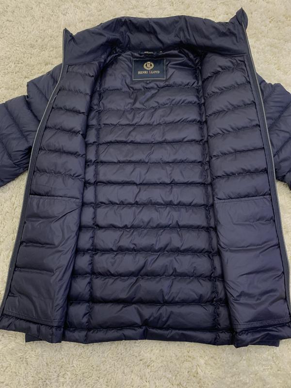 Куртка пуховик микропуховик от бренда henri lloyd - Фото 6
