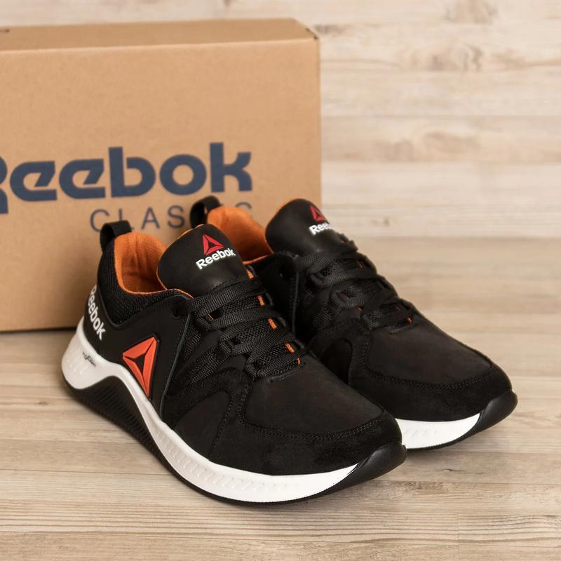 Мужские кожаные кроссовки  Reebok FLEXLIGHTX - Фото 7