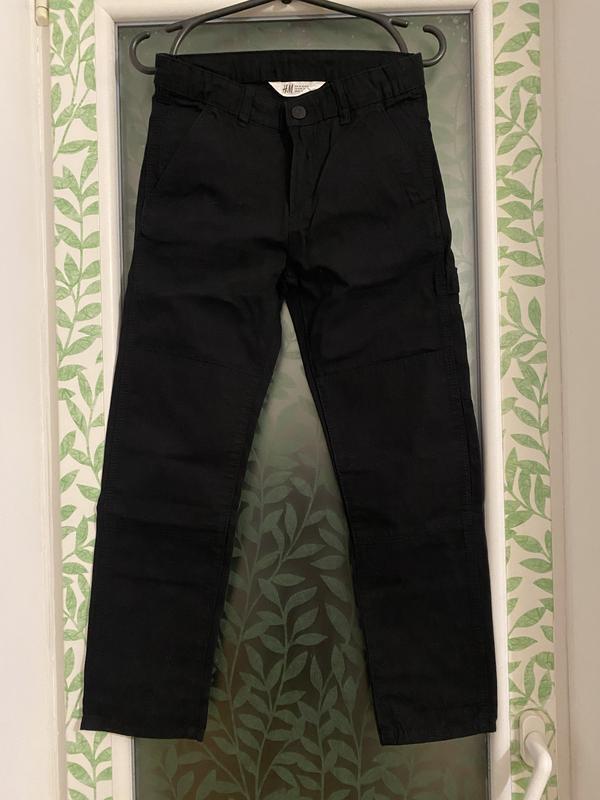 H&m брюки чинос штаны с карманами, премиум качество идеально д...