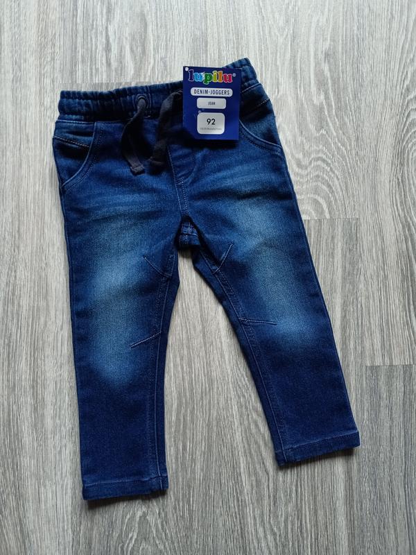 Джинсы lupilu на мальчика, плотный джинс