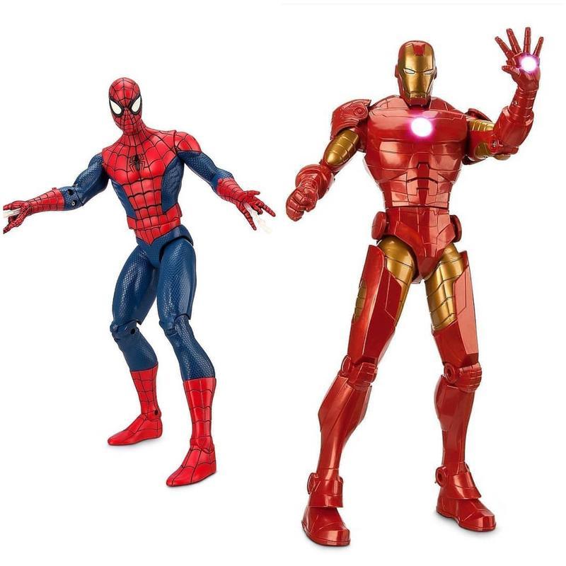 Интерактивные игрушки Железный-Человек, Человек-Паук от Дисней