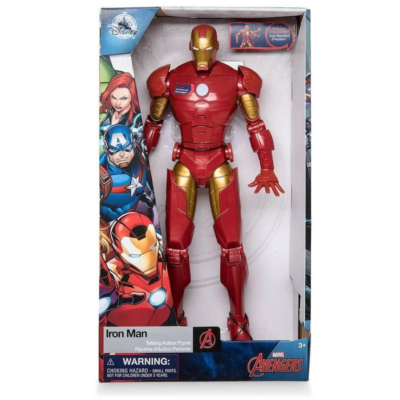 Интерактивные игрушки Железный-Человек, Человек-Паук от Дисней - Фото 3