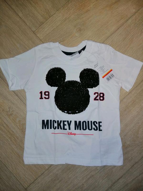 Футболка на мальчика 86-92 от Disney