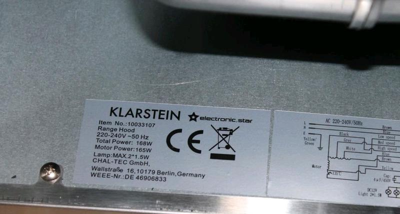 Островная вытяжка Klarstein - Фото 6