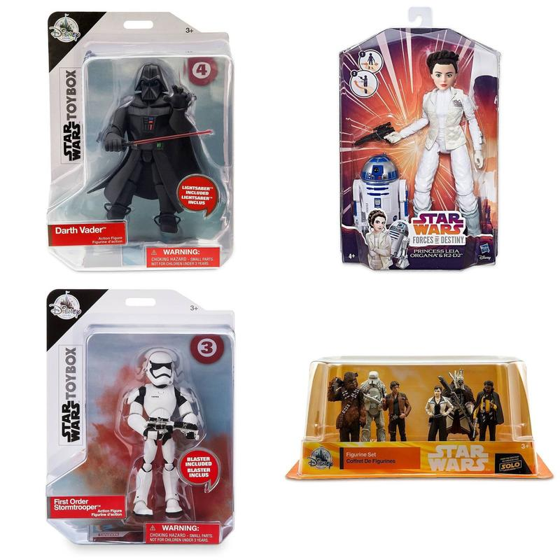 Игровые фигурки Star Wars Toybox,  Disney - Фото 5