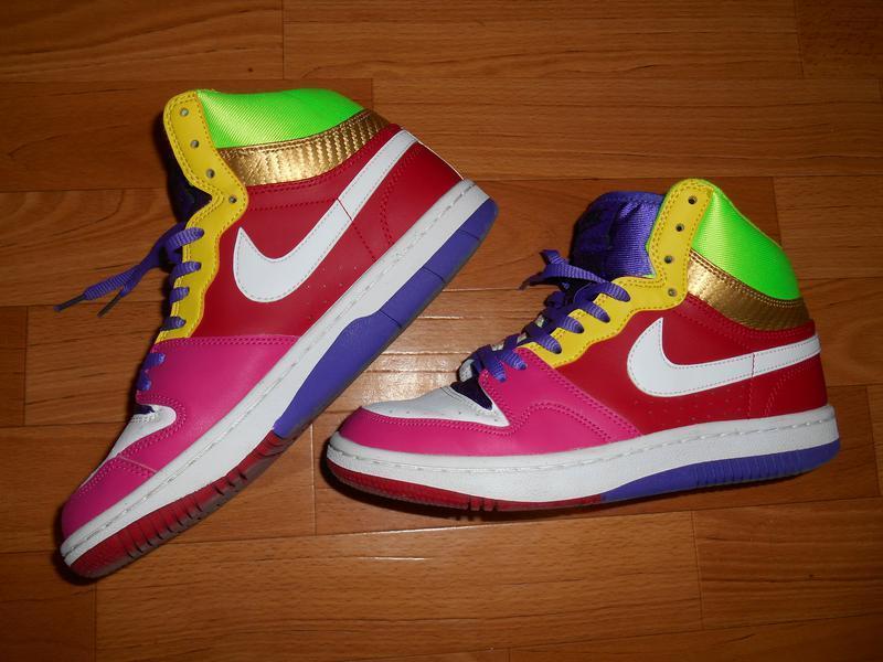 Высокие кроссовки nike court forse high, не reebok, adidas