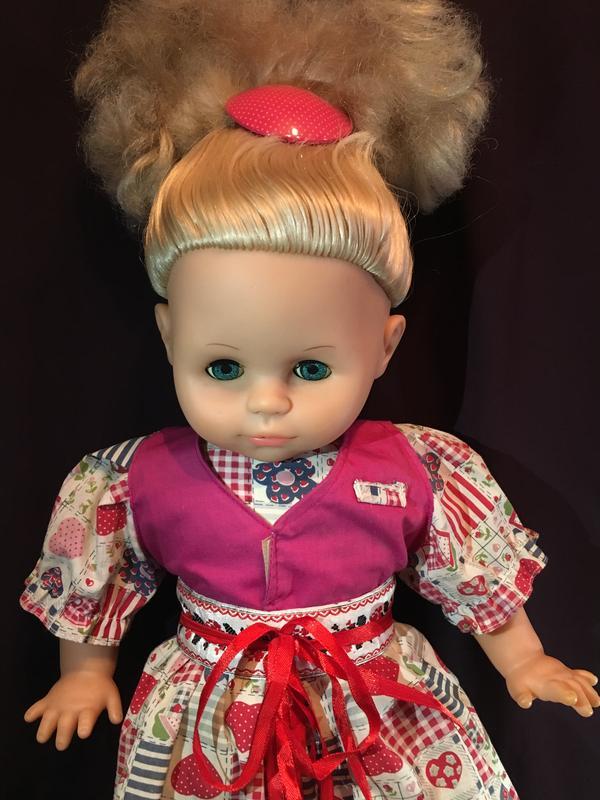 Кукла Пупс мягконабивная 50 см - Фото 2