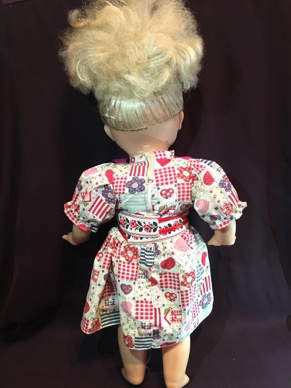 Кукла Пупс мягконабивная 50 см - Фото 3