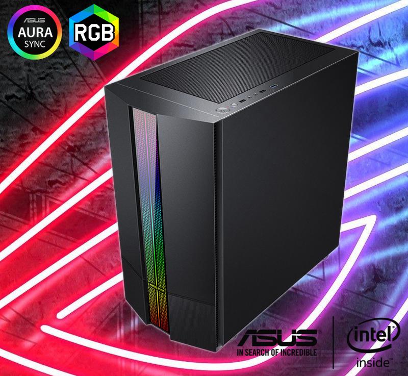 Игровой ПК ASUS «STELS» i5+GTX1650+8GB. Компьютер, системный блок
