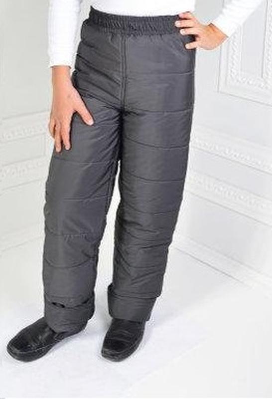 Детские зимние штаны брюки