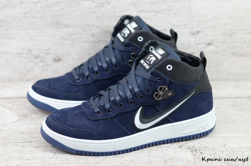 Качественные Мужские Зимние Ботинки Кроссовки Nike