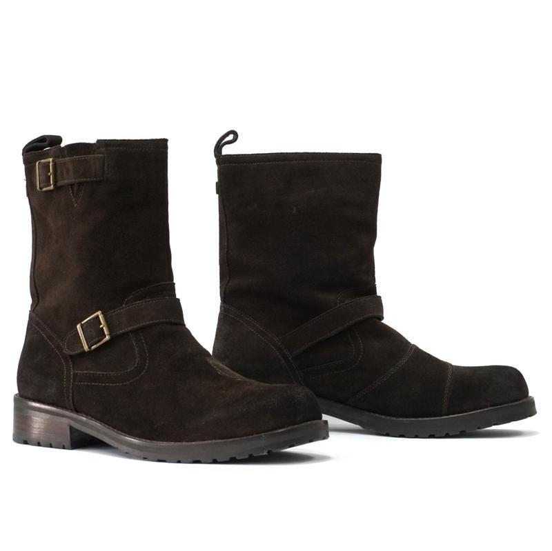 Замшевые ботинки belstaff oil resistant