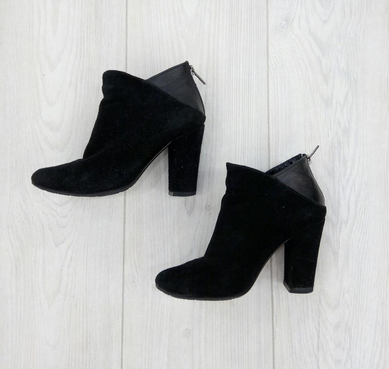 """🔥 обвал цен 🔥 стильные замшевые кожаные ботильоны ботинки """""""