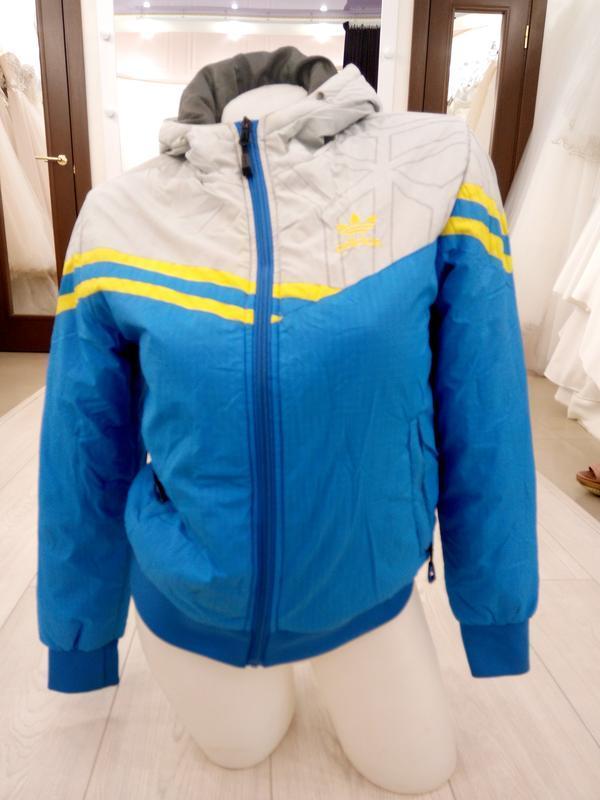 "🔥 обвал цен🔥 классная яркая спортивная куртка ""adidas"""