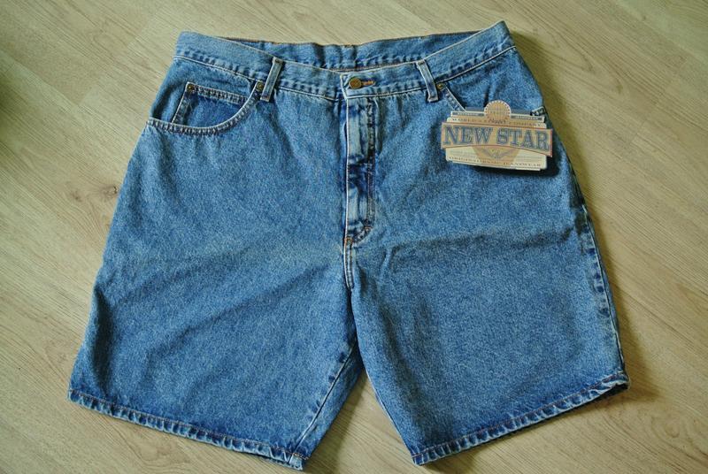 Шорти чоловічі джинсові new star xxl/ шорты мужские джинсовые