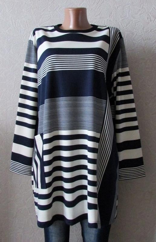 Платье туника француз кристина, большой размер