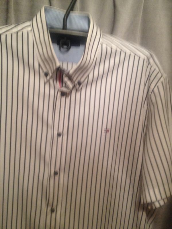 Оригинальная мужская рубашка.077