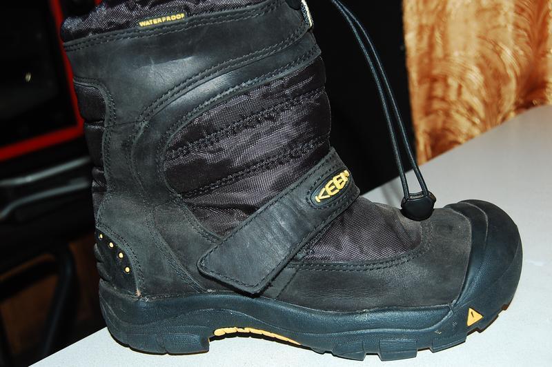 Зимние термо ботинки keen 35 размер