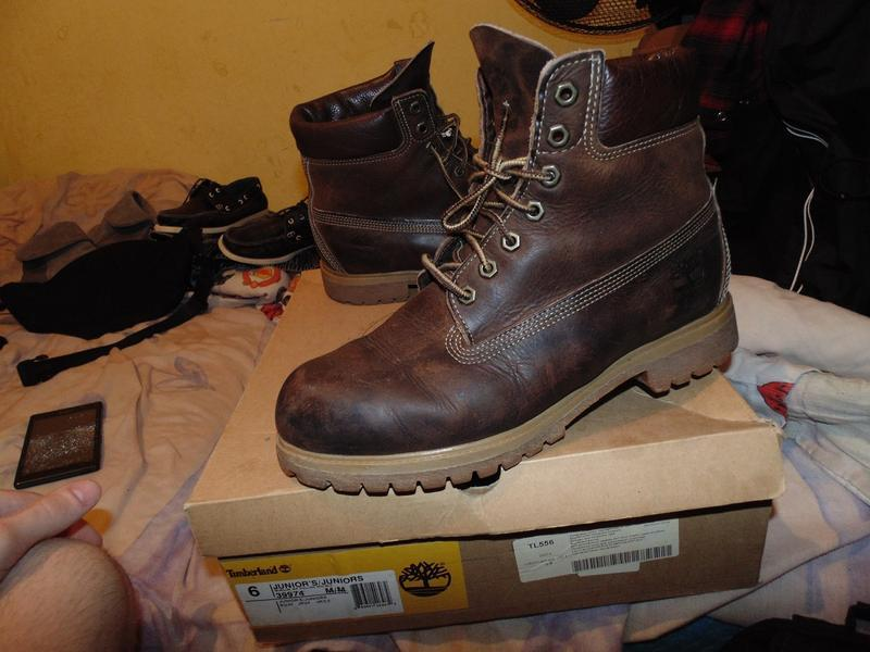 Ботинки timberland waterproof натуральная кожа оригинал