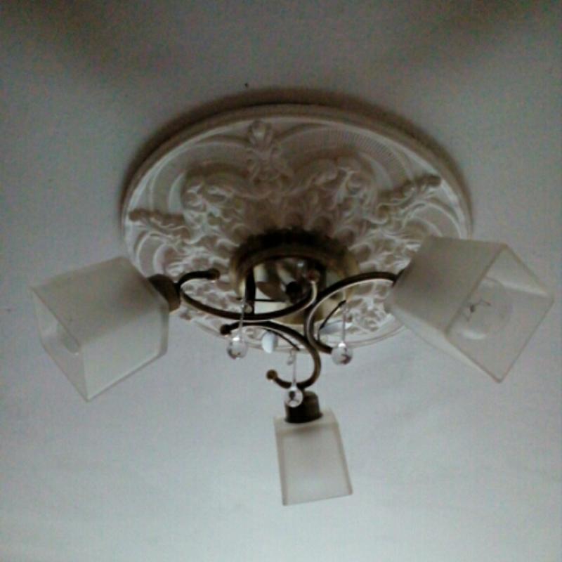 Монтаж/демонтаж светильниковлюстр, настольные ламп и тд