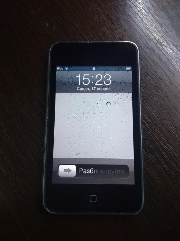 Плеер Apple iPod touch 2 (А1288) на 8Gb из США .IOS 4.2.1.