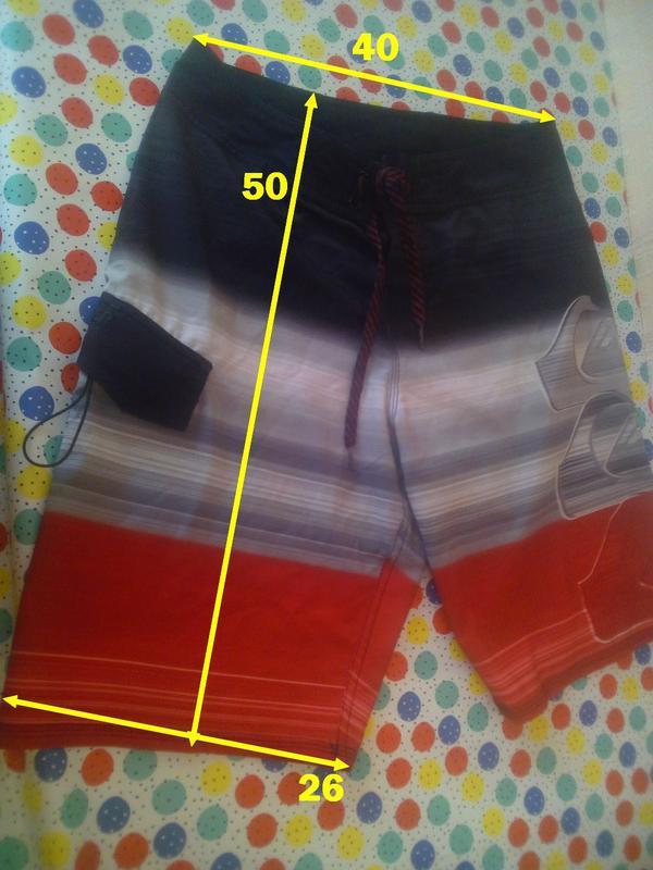 Quiksilver классные красные шорты